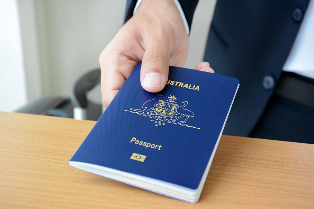 Australian citizenship passport