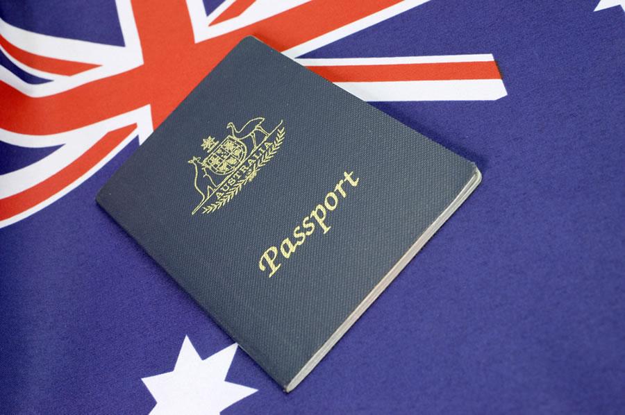 Australian citizenship passport