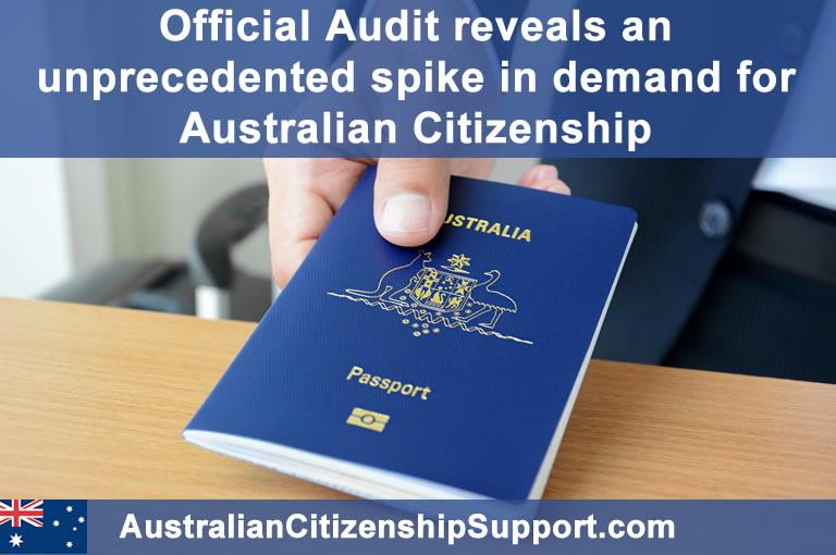 Australian citizenship spike